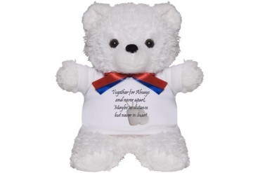Together For Always Military Teddy Bear