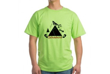 Schutzhund Professional - Green Green T-Shirt by CafePress