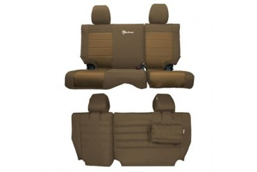 Trek Armor Rear Split Bench Seat Cover TAJKSC1112R4CC Seat Cover
