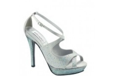 Dyeables Shoes - Style Sonya Silver 26113