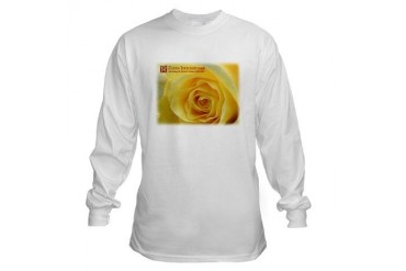 Zonta Yello Rose Animals / wildlife Long Sleeve T-Shirt by CafePress