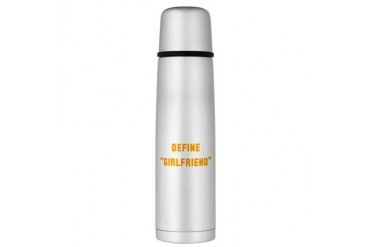 defgrl.psd Large Thermos Bottle Funny Large Thermosreg; Bottle by CafePress