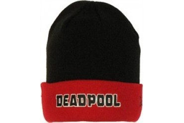 Marvel Comics Deadpool Flip Up Embroidered Beanie