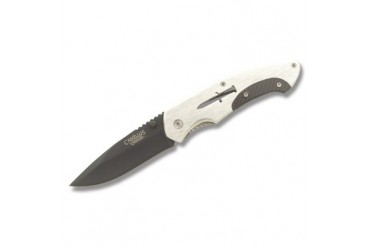 Camillus Carbonitride Titanium Drop Point Linerlock with Aluminum Handle