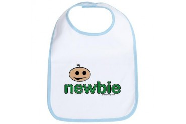 newbie Cute Bib by CafePress