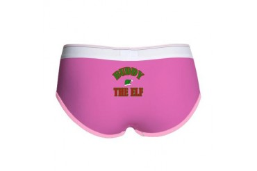 Santa's Coming Christmas Women's Boy Brief by CafePress