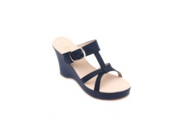Lucy Aliana two-strap slip-on wedges