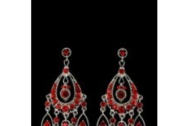Jim Ball Earrings - Style CE411-Light-Siam