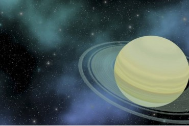 Cosmic image of our ringed planet of Saturn.
