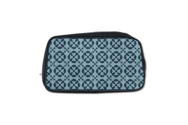 Blue Colonial Vintage Toiletry Bag by CafePress