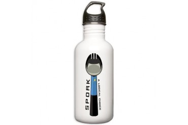 Spork Stainless Water Bottle 1.0L