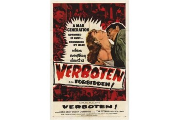 Verboten Movie Poster (11 x 17)