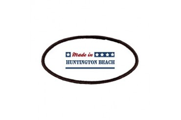 Made in Huntington Beach California Patches by CafePress
