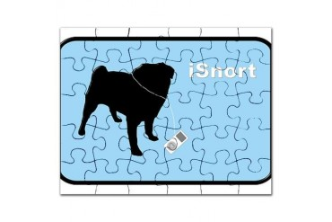 isnortbluebutton.png Pets Puzzle by CafePress