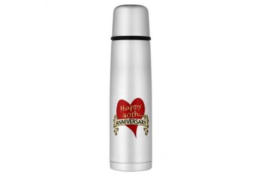 Large Thermos Bottle Anniversary Large Thermosreg; Bottle by CafePress