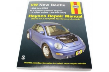 1998-2010 Volkswagen Beetle Manual Haynes Volkswagen Manual 96009 98 99 00 01 02 03 04 05 06 07 08 09 10
