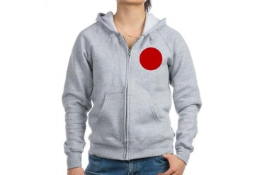 en1 Flag Women's Zip Hoodie by CafePress