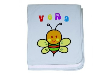 Vera Cute baby blanket by CafePress