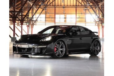 TechArt GrandGT Aero Kit with Chrome Running Lights Porsche Panamera Turbo 10-13