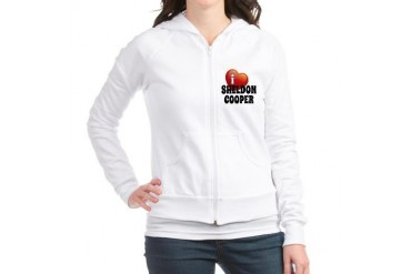 I Love Sheldon Cooper Funny Jr. Hoodie by CafePress