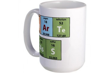 Chemistry Smart Ass Large Mug