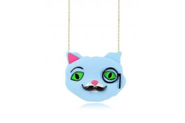 Plus qu'un Chat Igor Long Necklace