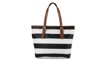 Embellish Kynthia Stripes Tote Bag