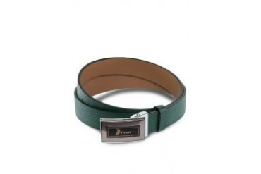 Polo Textured Strap Leather Belt