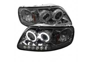 Spyder Auto Group CCFL LED Projector Headlights 5042033 Headlight Replacement
