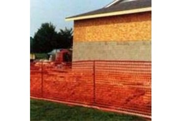 Mutual Industries 14993-50 4 X 50 Orange Warning Barrier Fence