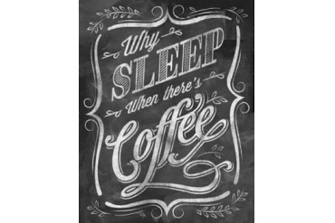 Wise Coffee 4 Poster Print by Dorothea Taylor (22 x 28)