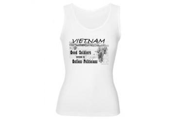 Vietnam NAM Good Soldiers G Military Women's Tank Top by CafePress