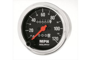 Auto Meter Traditional Chrome Mechanical Speedometer 2492 Gauges