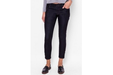 Catwalk88 Super Skinny Low Waist Dark Rince Crop Jeans