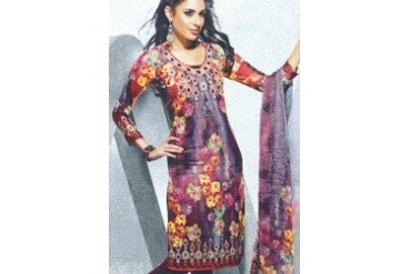 Lovely Multicolored Printed Kurti