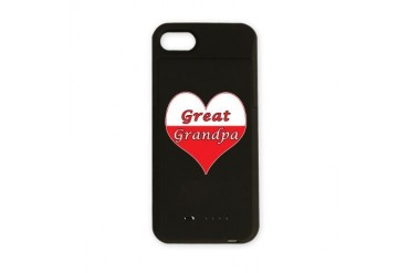 Great Grandpa Polish Heart Polish iPhone Charger Case by CafePress