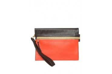Red Orange Johann Clutch Bag