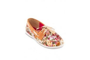 Te Chi-Chi Floral Printed Loafers