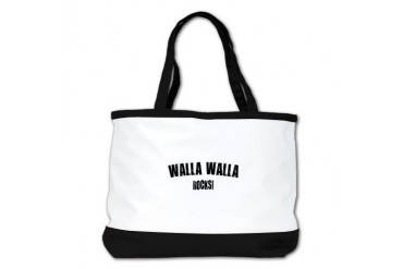Walla Walla Rocks Location Shoulder Bag by CafePress