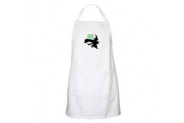 I'll Get You My Pretty - Flying Witch BBQ Humor Apron by CafePress