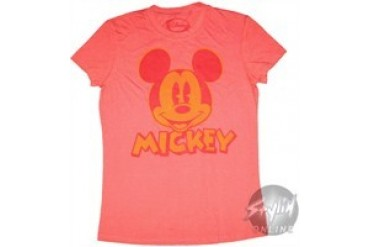 Disney Mickey Mouse Name Baby Doll Tee by MIGHTY FINE