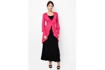 Red Lips Special Collection Long Gamis Apple 2598