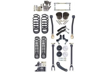 Currie 4 Inch RockJock Lift Kit CE-9807S Complete Suspension Systems and Lift Kits
