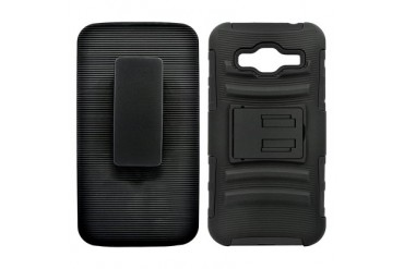 Samsung Galaxy On5 Defender Case Cover Belt Clip Holster Cover