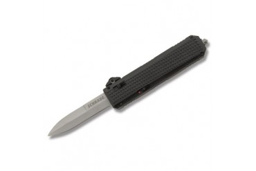 Schrade OTF Assisted Opening Spearpoint with Black Aluminum Handle
