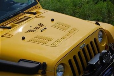 Hyline Offroad Louvered Hood Panel 400.500.100 Hood Vent