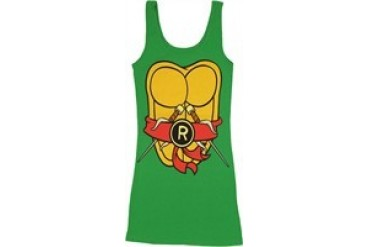 Teenage Mutant Ninja Turtles Raphael Red Sash Costume Snug Fit Tank Top Dress
