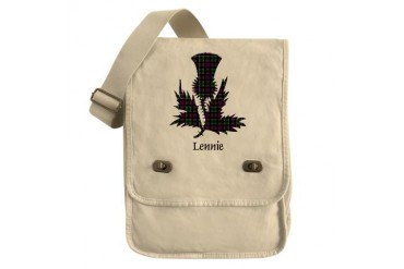 Thistle - Lennie Scottish Field Bag by CafePress