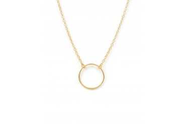 Dogeared Karma Necklace Gold