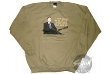 The Office I Want People to Be Afraid of How Much They Love Me Sweatshirt